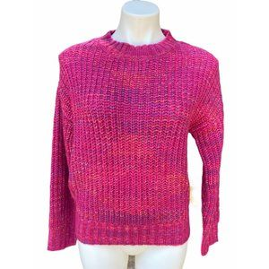 Band of Gypsies Sweaters - Band of Gypsies pink knit sweater - XS